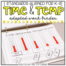 Load image into Gallery viewer, Time and Temperature Adapted Work Binder®