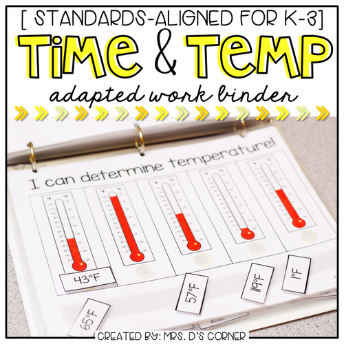 Time and Temperature Adapted Work Binder®