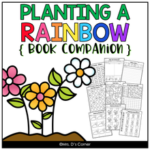 Load image into Gallery viewer, Planting a Rainbow Book Companion [ Craft, Writing Activity, and more! ]