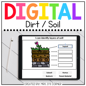 Soil + Dirt Digital Basics for Special Ed | Distance Learning