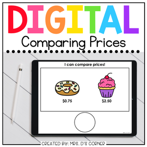 Comparing Prices Digital Basics for Special Ed | Distance Learning