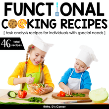 Load image into Gallery viewer, Functional Cooking Recipes for Cooking in the Classroom | Recipes for Kids