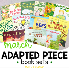 Load image into Gallery viewer, March Adapted Piece Book Set [12 book sets included!]