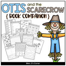 Load image into Gallery viewer, Otis and the Scarecrow Book Companion [Craft, Writing, Task Box + More!]