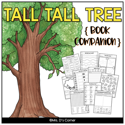 Tall Tall Tree Book Companion [ Includes Craft and Writing Activity! ]