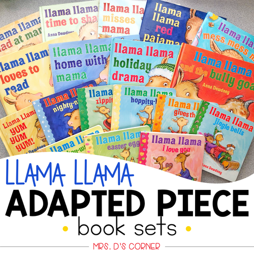 Llama Llama Adapted Piece Book Set [18 book sets included!]