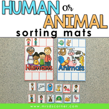 Load image into Gallery viewer, Human or Animal Sorting Mats [2 mats included]