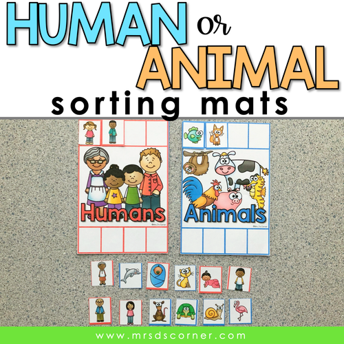 Human or Animal Sorting Mats [2 mats included]