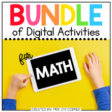 Load image into Gallery viewer, BUNDLE of Mathematics Digital Activities | Distance Learning