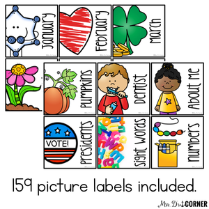 Classroom Library Labels (with Book Sticker Labels)