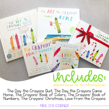 Load image into Gallery viewer, Crayons Adapted Piece Book Set [ 6 book sets included! ] Drew Daywalt