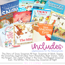 Load image into Gallery viewer, January Adapted Piece Book Sets [ 12 book sets included! ]