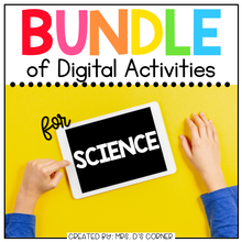 Load image into Gallery viewer, BUNDLE of Science + Social Studies Digital Activities | Distance Learning