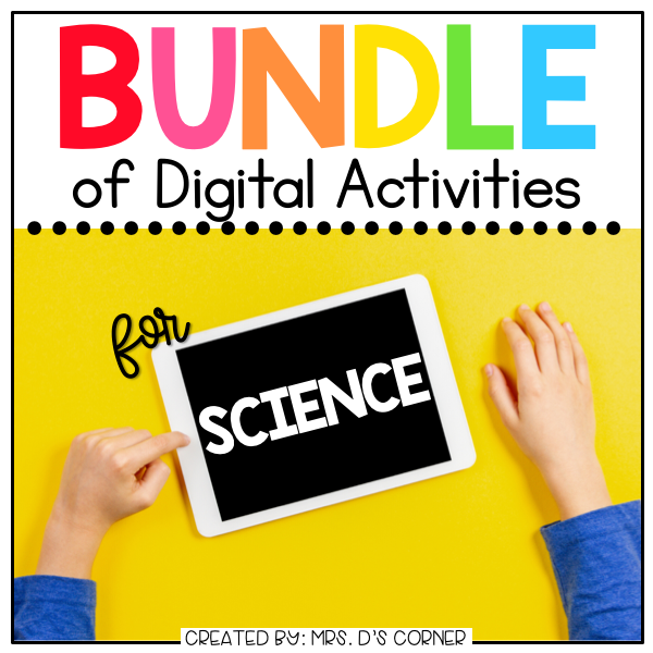 BUNDLE of Science + Social Studies Digital Activities | Distance Learning