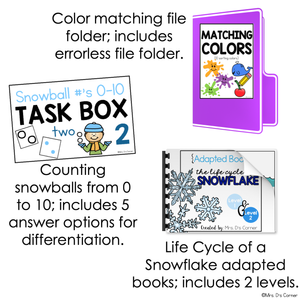 January Lesson Plan Pack | 12 Activities for Math, ELA + Science