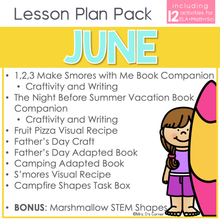 Load image into Gallery viewer, June Lesson Plan Pack | 12 Activities for Math, ELA, + Science
