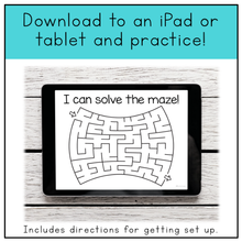 Load image into Gallery viewer, Fine Motor Skills Practice (Mazes) | Distance Learning