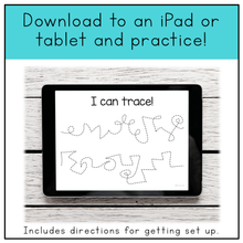 Load image into Gallery viewer, Fine Motor Skills Practice (Tracing Lines) | Distance Learning