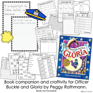 Officer Buckle and Gloria Book Companion [ Craft, Writing, and APBS! ]