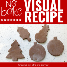 Load image into Gallery viewer, Cinnamon Ornaments Visual Recipe | Cinnamon Salt Dough Ornament