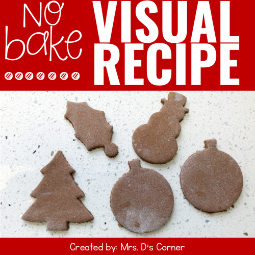 Cinnamon Ornaments Visual Recipe | Cinnamon Salt Dough Ornament