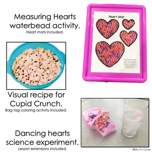 February Lesson Plan Pack | 12 Activities for Math, ELA, + Science