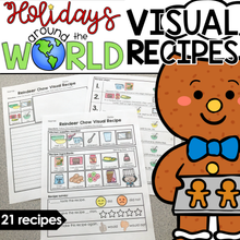 Load image into Gallery viewer, Visual Recipes for Holidays Around the World | Christmas Holiday Recipes
