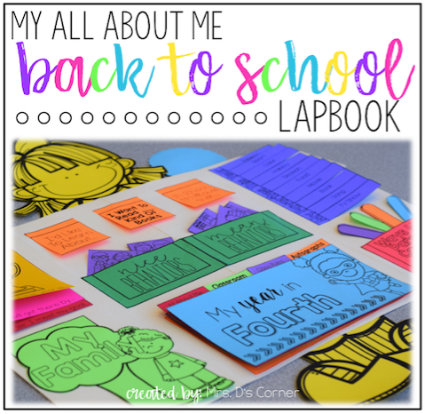 Back to School All About Me Lapbook [Over 20 Foldables!]