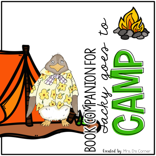 Tacky Goes to Camp Book Companion