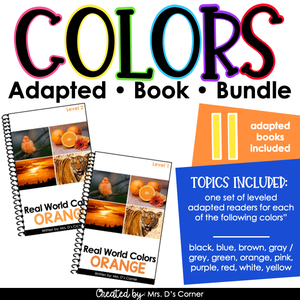 Real Life Colors - Colors Adapted Book Bundle | Real Picture Color Books