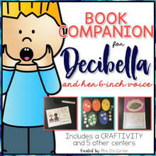 Load image into Gallery viewer, Decibella and Her 6-inch Voice Book Companion and Craftivity