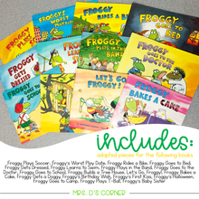 Load image into Gallery viewer, Froggy Adapted Piece Book Set [20 book set!]