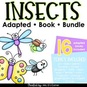 Bundle of Insect Adapted Books [Level 1 and Level 2]