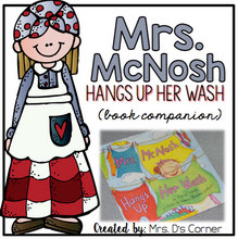 Load image into Gallery viewer, Mrs. McNosh Hangs Up Her Wash Book Companion
