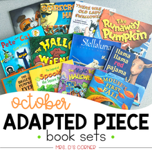 Load image into Gallery viewer, October Adapted Piece Book Set [ 12 book sets included! ]