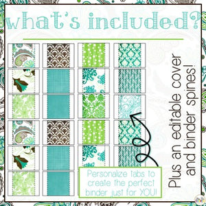 The Ultimate Special Education Binder|- Teal Mosaic [editable] IEP Binder