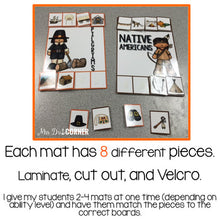 Load image into Gallery viewer, Thanksgiving Sorting Mats [2 mats!] for Students with Special Needs