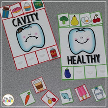 Load image into Gallery viewer, Dental Health Sorting Mats