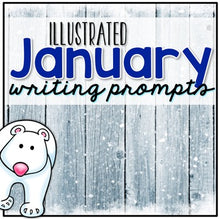 Load image into Gallery viewer, January Photo Writing Prompt Task Cards | Writing Prompts for January