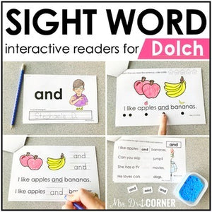 Dolch Interactive Sight Word Reader Bundle | Sight Word Books