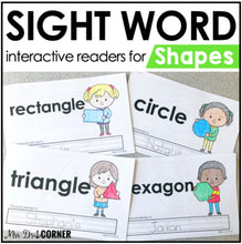 Load image into Gallery viewer, Shapes Interactive Sight Word Reader Bundle | Shape Activity Books