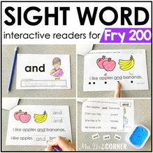 Load image into Gallery viewer, Fry 200 Interactive Sight Word Reader Bundle | Sight Word Books