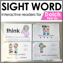 Load image into Gallery viewer, First Grade Dolch Sight Word Books | Printable Dolch Sight Word Readers