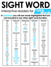 Load image into Gallery viewer, Core Vocab Interactive Sight Word Reader Bundle | Core Vocabulary Books
