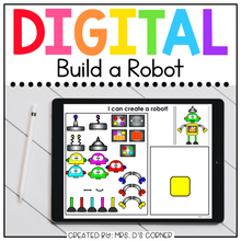 Load image into Gallery viewer, Digital Build a Robot | Digital Activities for Special Ed + Distance Learning