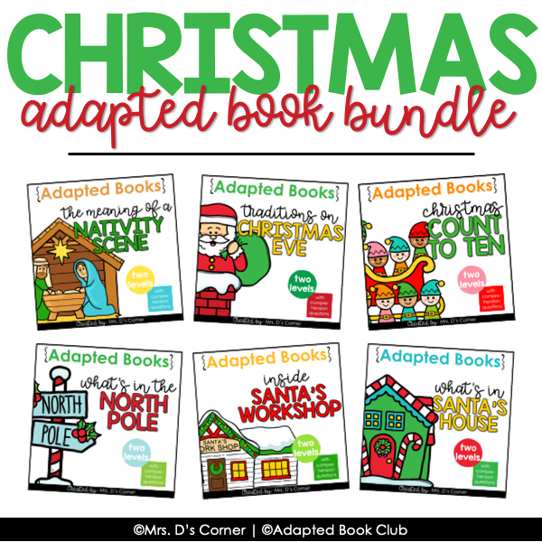 Christmas Bundle of Adapted Books [Level 1 and Level 2] Fiction + Nonfiction