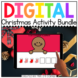 Christmas Digital Activity Bundle [15 digital activities] | Distance Learning