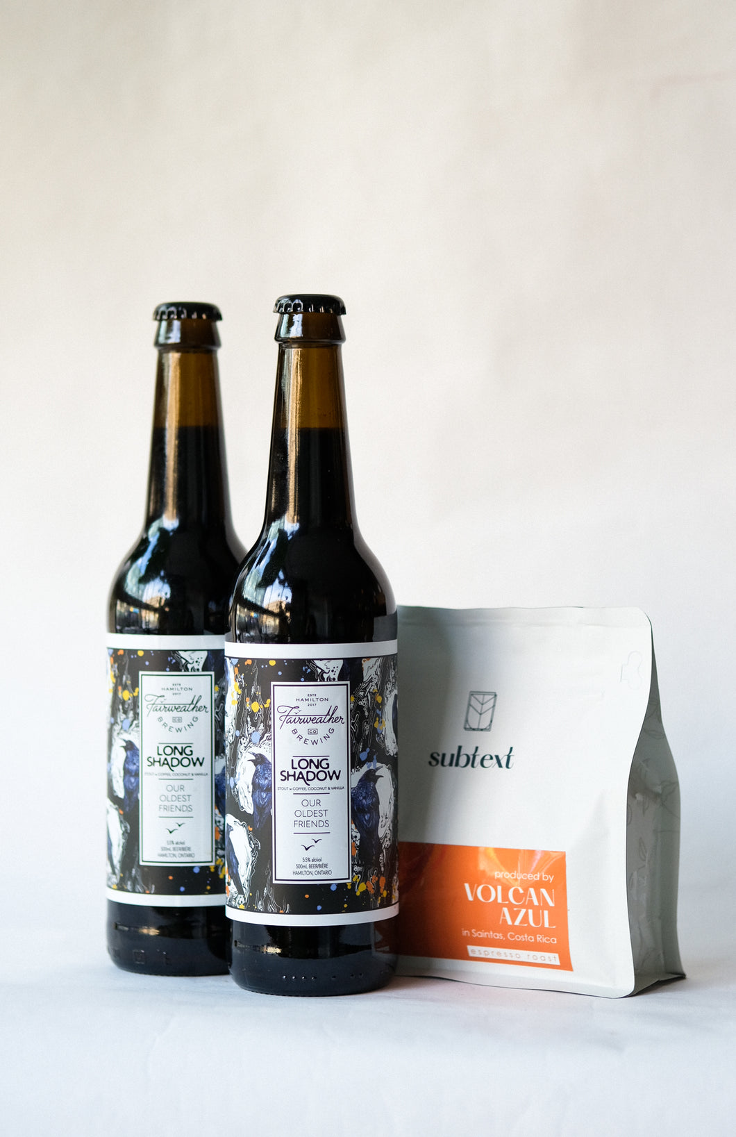 Beer & Coffee Package: Two Stouts and a Brew