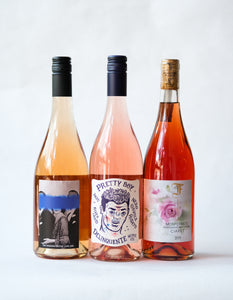 Wine Package: Three Shades of Pink
