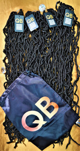 "36"" QB Soft Locs (1B) - 4 Pack Bundle"